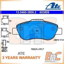 ATE FRONT DISC BRAKE PAD SET FOR FIAT PANDA VAN 169 PANDA 169 OEM 13046038092