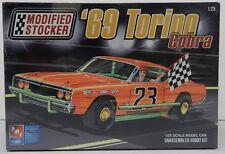 STOCKER 69 FORD TORINO COBRA MODIFIED ASPHALT DIRT TRACK RACE CAR AMT MODEL KIT