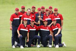 TEAM USA GOLF RYDER CUP WINNERS CHAMPIONS 2021 PHOTO - 12x8
