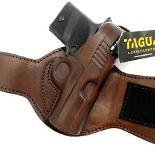 Desantis 044BA4CZ0 Black Right Hand Leather Ankle Holster For Sig P938