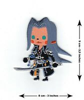 Sephiroth Final Fantasy - BRAND NEW - Cute Embroidered Patch XV VII 15 7