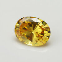 13x18mm 20.85ct Unheated Oval Yellow Zircon Diamonds Cut AAAAA VVS Loose Gems