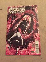 Carnage #10 1st Appearance of Raze 1st Print High Grade [Marvel Comics, 2016]
