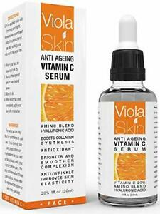 Vitamin C Serum For Face Anti Ageing Anti Wrinkle Face Lift Hydrate UK