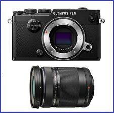 Olympus PEN-F Mirrorless Digital Camera with 40-150mm f4.0-5.6 R Lens [Black]