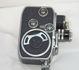 BOLEX B8L   8mm CAMERA WITH LENS