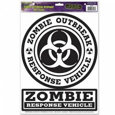 Zombie Outbreak Response Peel 'N Place Halloween Party Decorations Supplies