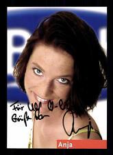 Anja BIG Brother Autogrammkarte Original Signiert # BC 93952