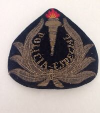 Special Mexican Police Patch Especial Policia Epaulettes Hat Patch WWII 1940's