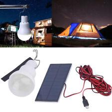 Portable Solar LED Bulb Solar Bulb Lamp Focus With 0.8W Solar Panel For Outdoor