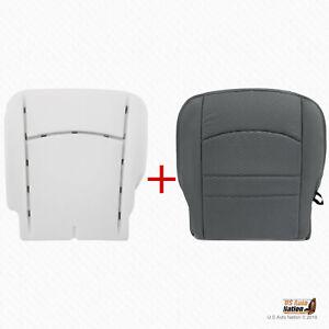 2013 - 2018 Dodge Ram 1500 2500 3500 Driver Bottom Cloth Cover-Foam Cushion Gray