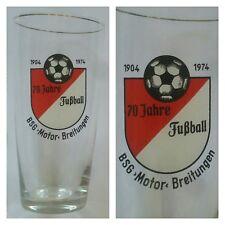 G954 GLAS BSG MOTOR BREITUNGEN DFV DFB Fussball Sport DDR Oberliga Liga H13,0cm