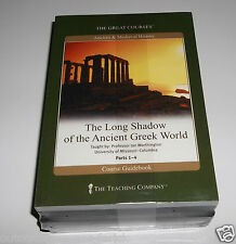 The Great Courses The Long Shadow of The Ancient Greek World Parts 1-4 - NEW