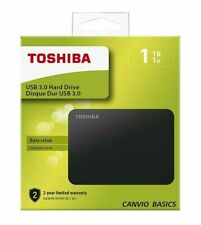 Toshiba 2 TB External Portable Hard Drive Canvio Basics USB 3.0 Black IRELAND