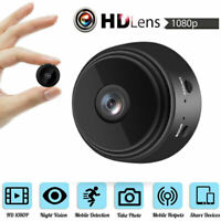 A9 HD Mini Camera 1080P IP Spy WIFI Wireless Hidden Security IR Night Vision