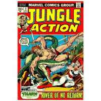Jungle Action (1972 series) #2 in Very Fine minus condition. Marvel comics [*ut]
