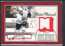 ALES HEMSKY 2005 05/06 BEEHIVE MATTED MATERIALS OILERS GAME JERSEY SP $15