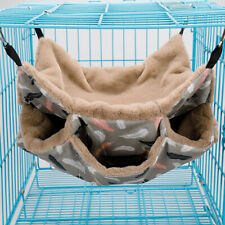 New listing Hamster Hammock Pet Hanging Cage Bed House Small Animal Sleeping Nest House