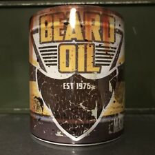 Beard Oil Limited Design Oilcan Effect Mug By Mr Oilcan