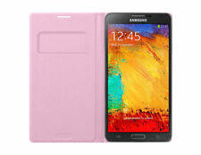 Brand New Original Samsung Flip Wallet Cover Case for Galaxy Note 3 – Pink