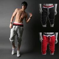 Casual Men Sport Sweat Pants Shorts Harem Dance Baggy Jogging Training Trousers