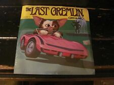 """Gremlins Book & Record """"The Last Gremlin"""" story 5 SEALED"""