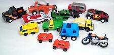 Vintage 1970-80's Tonka & Buddy Lot of 13 CarsTrucks Motorcycles Volkswagens