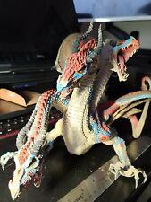 Large Three Headed Dragon Serpent Figure