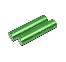 2 2600MAH BATTERY POWER CHARGER MICRO USB GREEN NOKIA LUMIA 920 1020 HTC ONE X