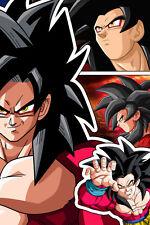 Dragon Ball GT Goku Super Saiyan 4 12in x 18in Poster Free Shipping