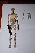 "OOM-9 Battle Droid Commander 12"" Figure-Hasbro-1/6-Star Wars-Customize Side Show"