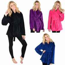 Fleece Robes Short Lingerie & Nightwear for Women