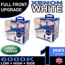 EVOQUE 11-on Xenon Bianche UPGRADE KIT PER FARI ANABBAGLIANTE LAMPADINE falda alta 6000k
