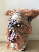 Horror Halloween Werewolf Full Overhead Latex Mask With Hair