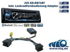 JVC KD-R871BT inkl. Lenkrad Fernbedienung Adapter Dacia Duster & Sandero bis Bj.