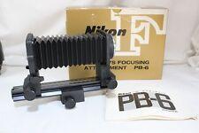 Exc+++ Nikon PB-6 Bellows Focusing Attachment