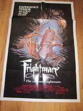 FRIGHTMARE original 1983 horror poster
