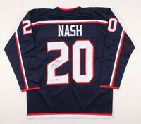 Riley Nash Signed Columbus Blue Jackets Hockey Jersey ~Beckett COA~ Autographed