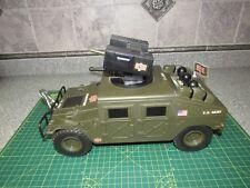 (2001) G.I. Joe Armored Humvee With Battery Controls HASBRO (Vintage) FUNRISE!!!