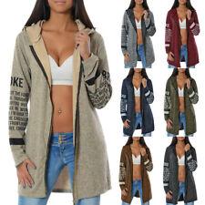 Damen Pullover Hoodie Winter Pulli Sweatshirt Sweater Kapuzenpullover Sweatjacke