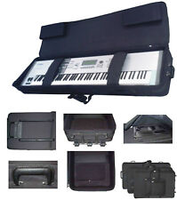 Steady 76-Key Heavy Duty Lightweight Keyboard Case with wheels