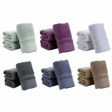 Soft Cotton Towels Bathroom Shower Quick Dry Thick Wash Cloths for Face & Body