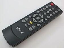 Apex Digital TV Tuner Converter Box Remote for DT150 DT250 DT250A DT502A DT502