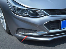 ABS Chrome Front Light Lamp Trim Cover For Chevrolet Cruze 2017-2019