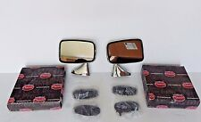 New Pair of Side Mirrors Reproduction of Original Mirror for MGB 1974-80 Made UK