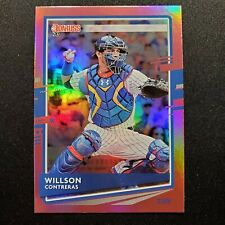 2020 DONRUSS PINK HOLO WILLSON CONTRERAS CHICAGO CUBS PARALLELS - H1108