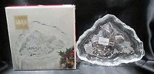 """Mikasa Crystal Angel Music Sweet Dish 7-3/4"""" Sa985/210 Germany Boxed"""