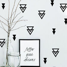 Cute Mural Removable Triangle Wall Stickers Decals Kids Baby Room Home Decor DIY