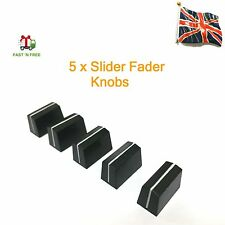 5 x Slider Fader Knobs - Fits Allen & Heath Xone 02, 22, 3D, 4D, 42, 92 & S2