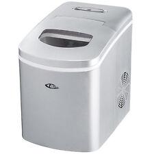 Máquina productor de hielo Ice maker cubitos de hielo nuevo plateada nuevo